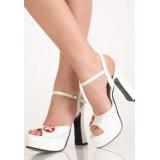 0243 Туфли белые медсестра