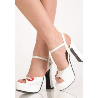 Туфли белые медсестры 0243