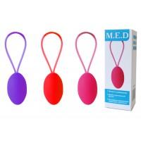 Тренажер для интимных мышц (яйцо) M.E.D  MD-33001-5