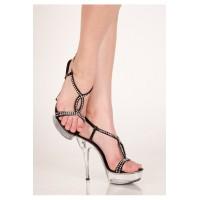 Туфли со стразами 5610
