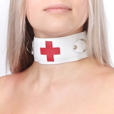 Ошейник для костюма медсестры СК-Визит 3116-3