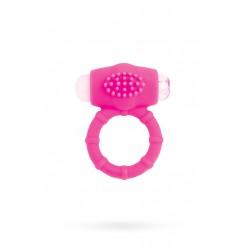 Виброкольцо розовое Toyfa A-Toys 769001