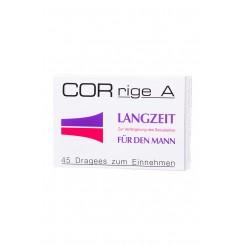CORrige A (3шт) Средство для продления полового акта