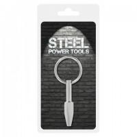 Стимулятор для уретры из стали Steel Power Tools 10330