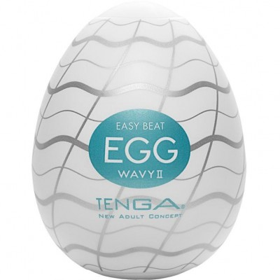 Мастурбатор яйцо TENGA  Egg Wavy II 013