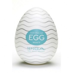 Мастурбатор яйцо TENGA Egg Wavy 001